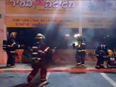 עפולה: חנות עלתה באש במרכז העיר, ניסיון להצית את מכוניתו של מני נפתלי