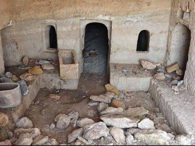 מערכת קבורה מרשימה נחשפה במהלך עבודות פיתוח שכונה בטבריה