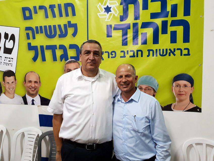 עפולה: 'הבית היהודי' יתמכו באלקבץ לראשות העיר