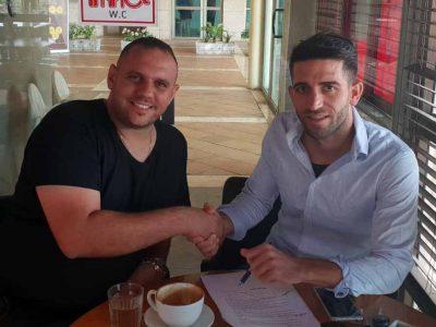 אסי גלבוע: החלוץ איציק נאש חתם בקבוצה