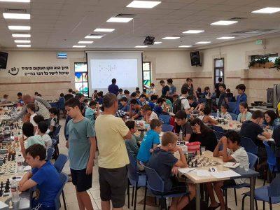 מרתק: אליפות ישראל עד גיל 14 בשחמט נערכה בויצו ניר העמק