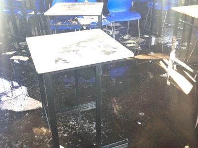 באמצע השיעור: שריפה פרצה בבית ספר כדורי