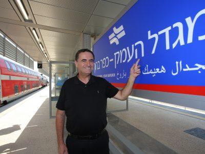 השר כץ הודיע כי יפנה לנתניהו לאשר את המשך ההנחות לרכבת העמק בממשלה