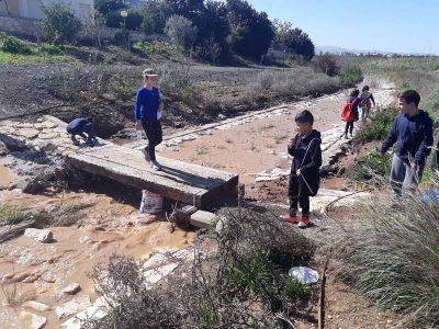 ילדי עפולה מתחברים לנחל חרוד