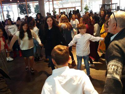 מסיבת מצווה ל-15 נערים ונערות בסיכון נערכה בעפולה