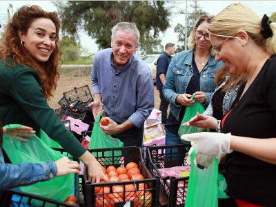 גלבוע: למעלה מ- 300 חבילות מזון ושוברים, נתרמו וחולקו במבצע קמחא דפסחא