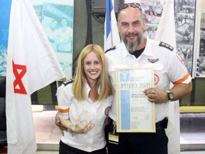 אורטל בלמן מבית שאן: מצטיינת בהצלת חיים