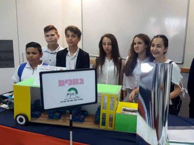 """עפולה: מקום ראשון לבית ספר גוונים בתחרות ה""""ממציא הצעיר"""""""