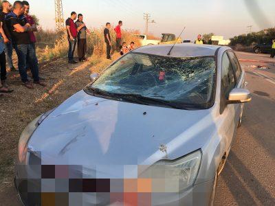 סמוך למגידו: בן 14 שרכב על סוס נפגע קשה מרכב