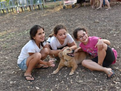 גינת הכלבים הראשונה בעמק יזרעאל- נפתחה ברמת דוד