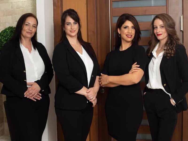 """ה""""כוח הנשי"""" של משרד עורכי הדין אדר בן גיגי"""