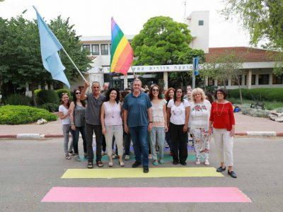 עמק יזרעאל: בבית המועצה מציינים את חודש הגאווה במחווה מרגשת