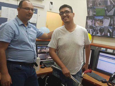 המוקד העירוני בעפולה פתח את שעריו לעובדים בעלי מוגבלויות