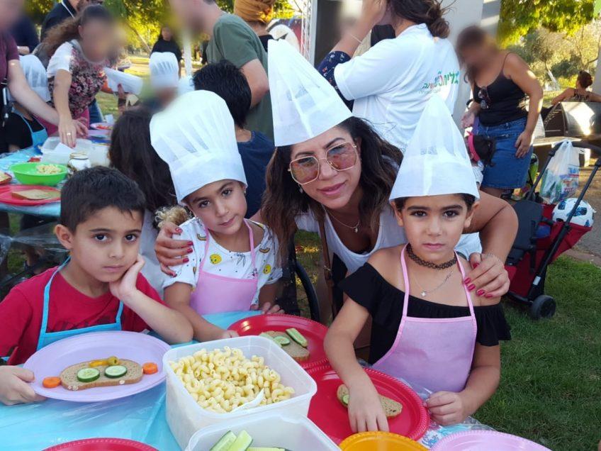 חוזרים לבית הספר: כללית ערכה פעילות מיוחדת עבור ילדי עפולה