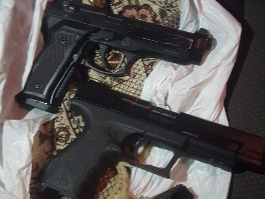תושב רהט נתפס סמוך לעפולה עם שני אקדחים