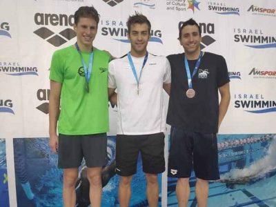 אליפות ישראל בשחייה: הישגים מרשימים לשחייני עמק יזרעאל