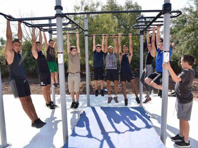עמק יזרעאל: בכפר ברוך מתחדשים במתחם כושר וספורט