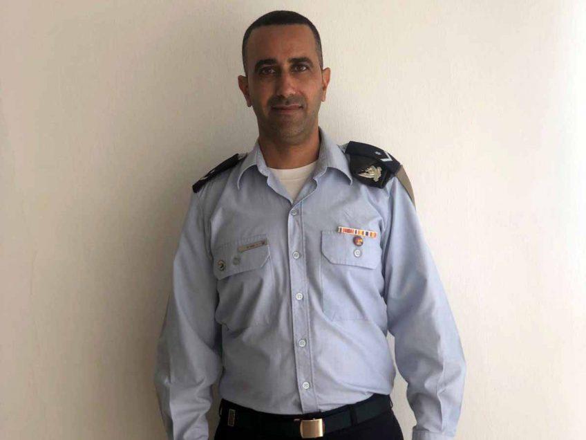 מפקד תחנת הכיבוי בבסיס רמת דוד- נבחר לנגד מצטיין