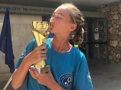 הטניסאית הצעירה ליזה שייקיסמעפולה זכתה באליפות ישראל