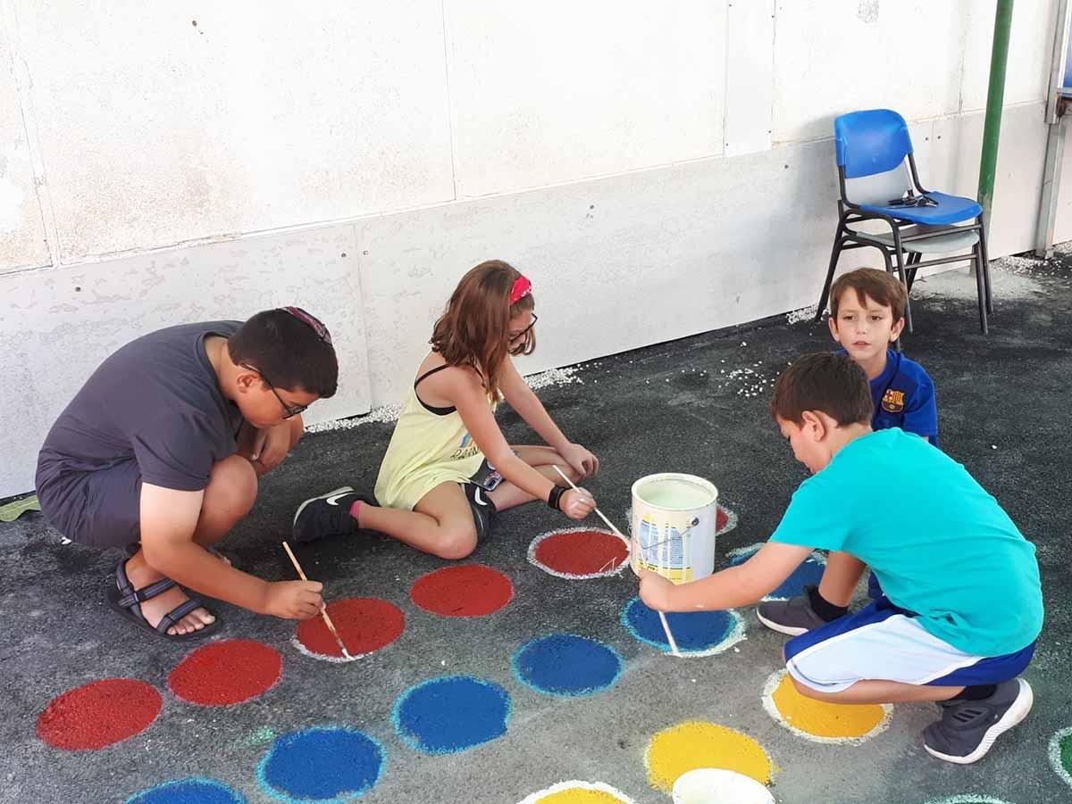 ילדי מגידו פתחו את שנת הלימודים ביצירתיות