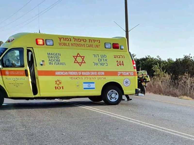 עפולה: בן 30 שנפל מסוס נפגע באורח בינוני