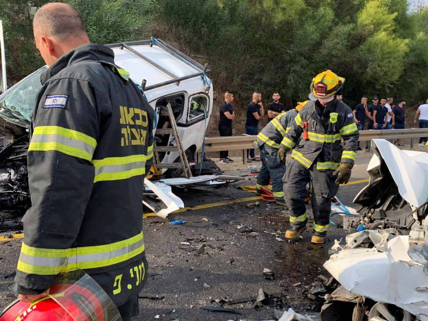 הרוג בתאונת דרכים בסמוך לחנתון, באום אל פאחם 2 פצועי ירי