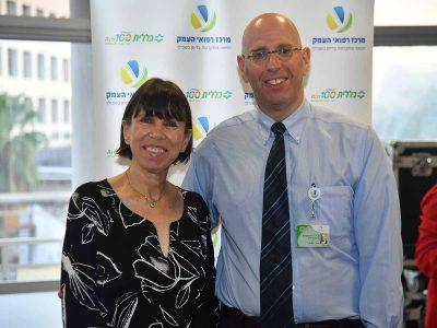 עושים כבוד לפרופ'  אורנה בלונדהיים, מנהלת מרכז רפואי העמק שפורשת לגמלאות
