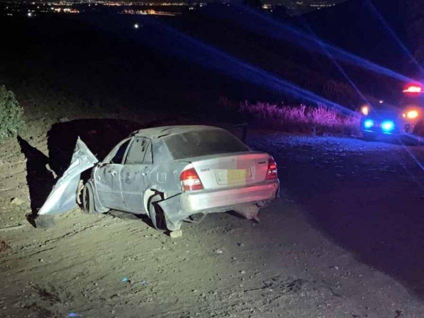 גלבוע: הרוג וקטין פצוע, בהתהפכות רכב בסמוך לעין חרוד איחוד