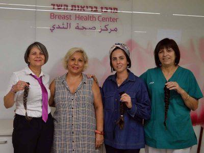 השיער שלכן- החיוך שלהן: עושות מצווה למען חולות סרטן