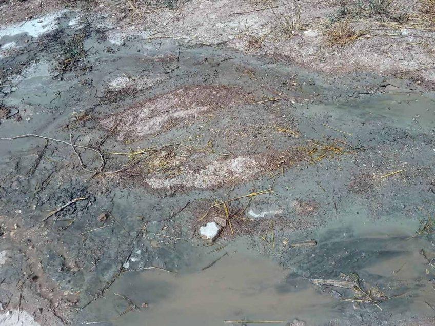 על חם: קנס של אלפי שקלים לקבלן ששפך שאריות בטון בטבע