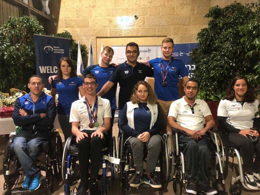 כבוד לשחייני האזור: נבחרת השחייה הפראלימפית חזרה לארץ עם 4 מדליות