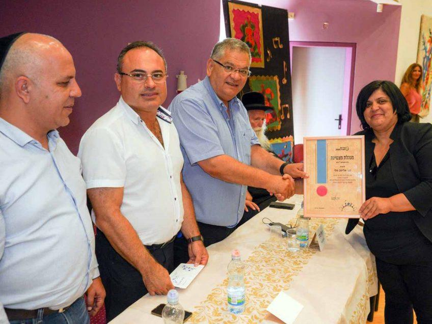 מגדל העמק: מלי אליגוב נבחרה למנהלת מצטיינת