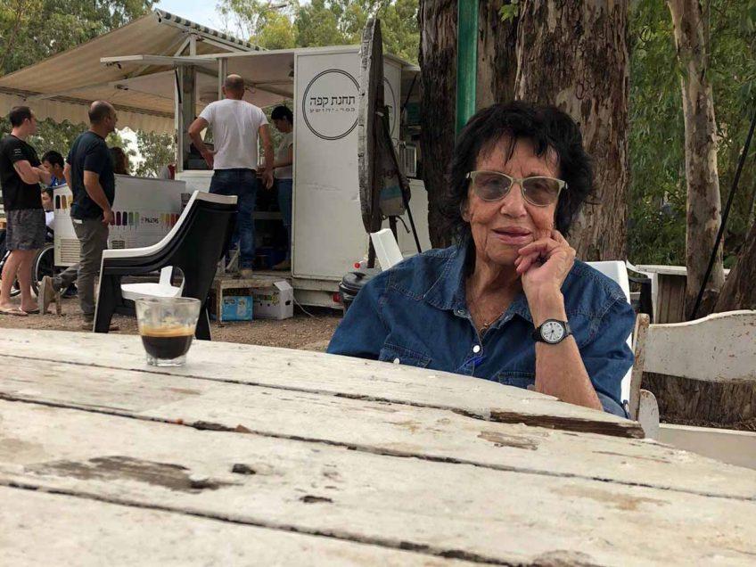 עמק יזרעאל: דינה פורת בת ה-92 מכפר יהושע- הסטודנטית הוותיקה בישראל