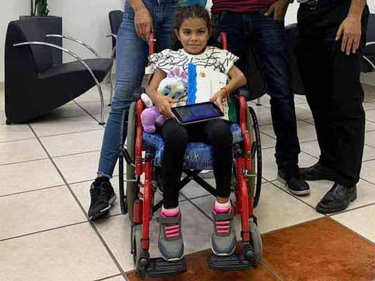 נס לשנה החדשה: הילדה שירה שנפגעה קשות בתאונת דרכים בעפולה שבה לחייך