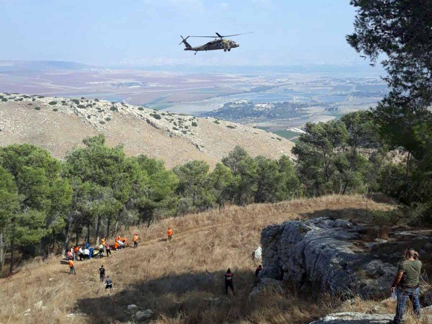 תאונה קשה בפעילות אומגה בהר הגלבוע