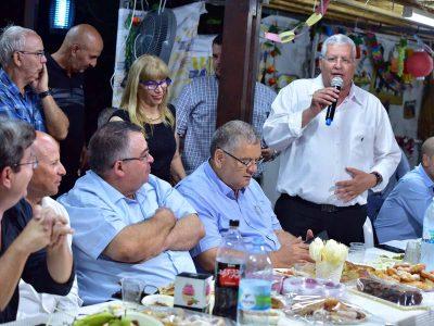 עפולה: מאות התארחו בסוכה המסורתית של שלמה מליחי