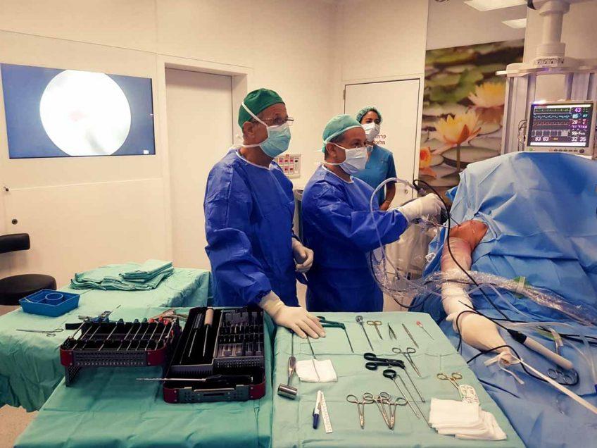 לראשונה בישראל: ניתוח ראשון מסוגו לתיקון קרע בכתף