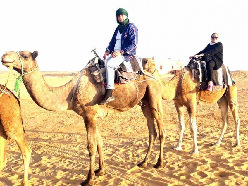 """יו""""ר העובדים יוסי חן, ניקה את הראש בסהרה במרוקו, ספיר עמר פאשניסטה בלוק מדהים. פלאש! – רכילות בעמק"""