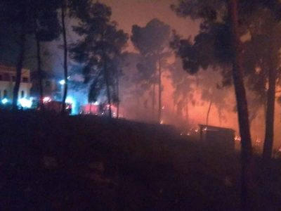 בעקבות שריפת קוצים: תושבי כפר דחי פונו מבתיהם