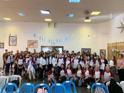 מועצת התלמידים יצאה לדרך בכפר הנוער ויצו ניר העמק