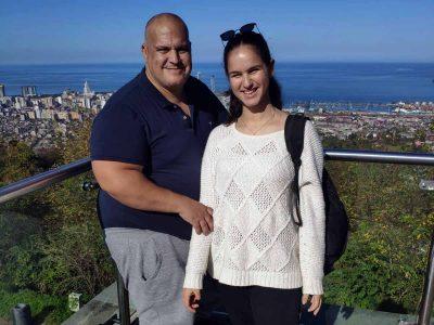 ירוק, כחול ועם הרבה מים: החופשה המשפחתית של עודד ורוני בבטומי