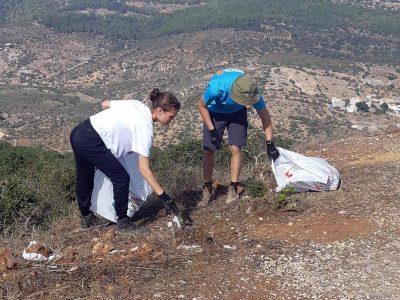 מבצע: טון זבל נאסף באזור הר תבור