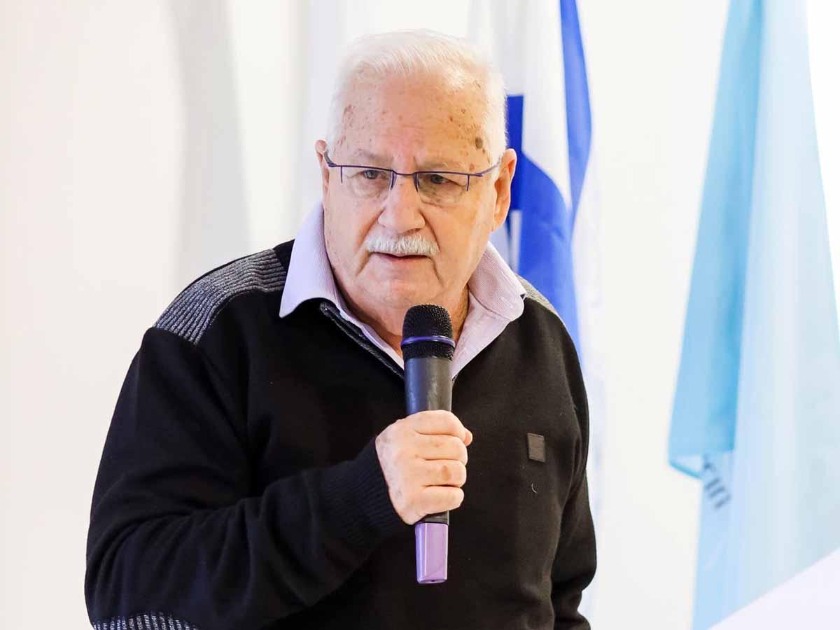 נשיא האקדמית כנרת - פרופ' שמעון גפשטיין. צילום: ארז ביטון