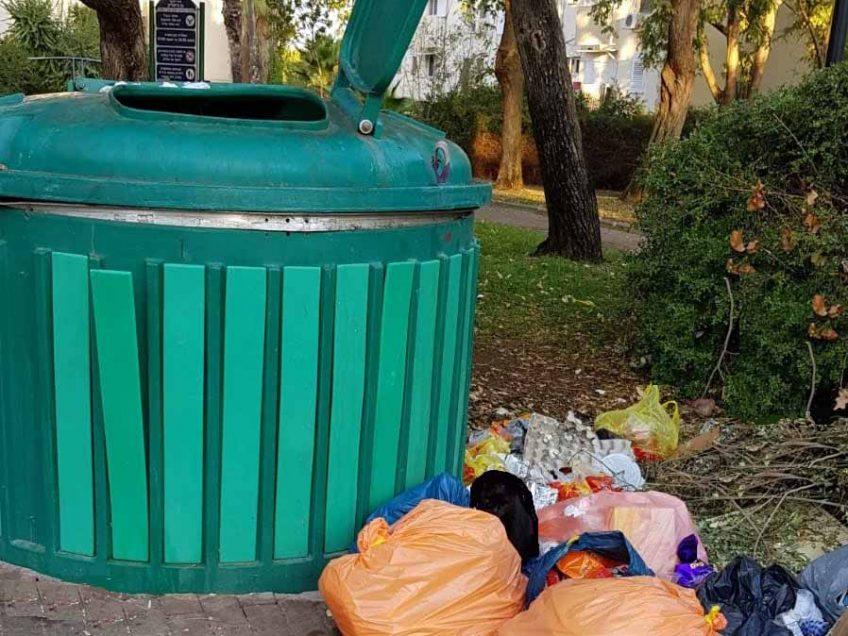 עיריית עפולה: נפתרה תעלומת הפחים החכמים