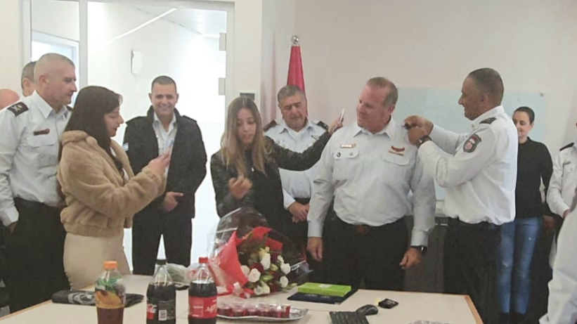 מינוי: טפסר משנה מיקי כהן מעפולה ישמש כמפקד תחנת נצרת