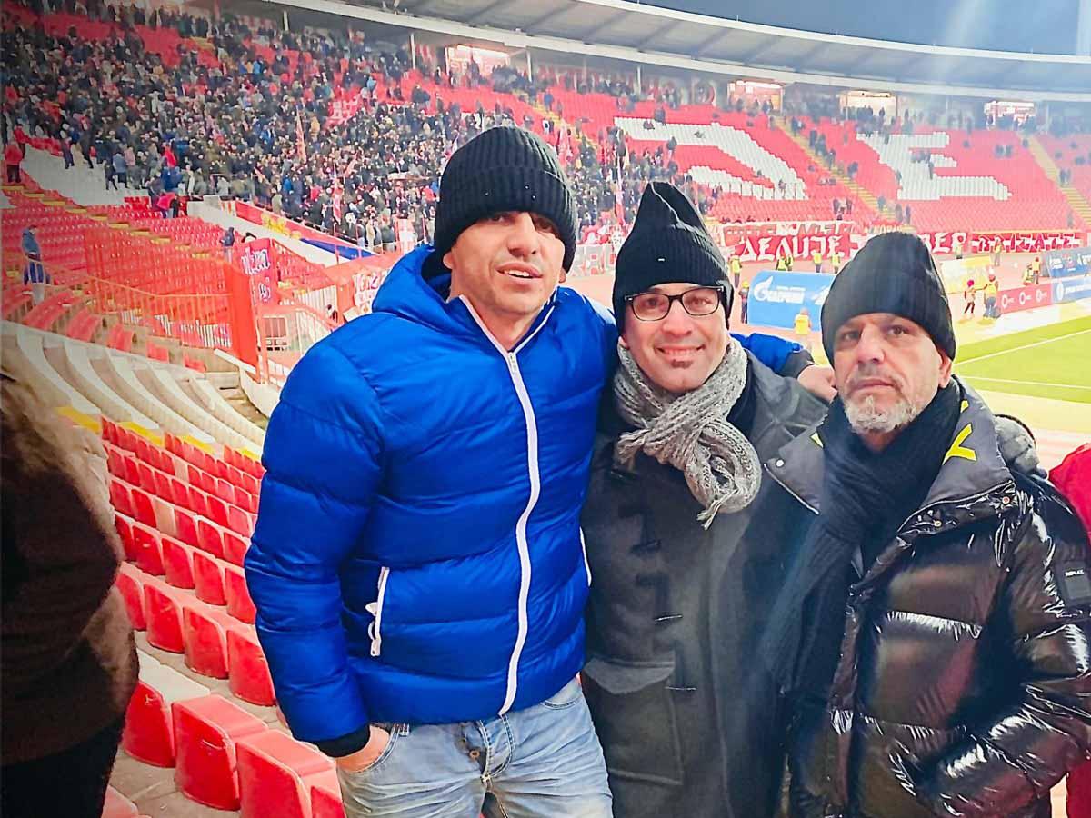 חוויה ספורטיבית באצטדיון של הכובב האדום בלגרד