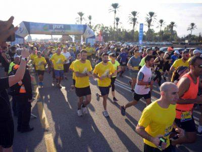 היה מושלם: 4000 רצים בחצי מרתון עמק המעיינות