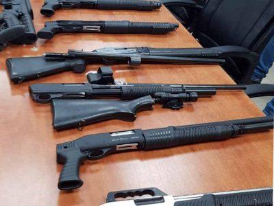 הותר לפרסום: סוכלה הברחת כלי נשק נשק ארוכים לארץ בגבול המזרחי של המדינה