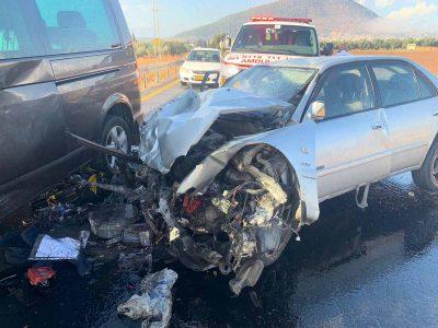 אשה נהרגה בתאונה קטלנית בסמוך לכפר תבור