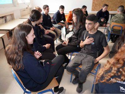 מגדל העמק: תלמידים מארץ הקנגורו התארחו בעיר